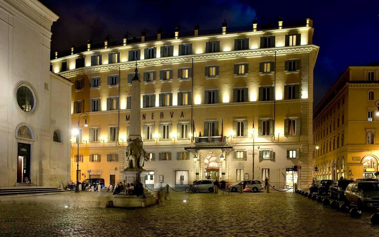 5 Star Hotel in Rome - Grand Hotel de La Minerve - Official Website ...