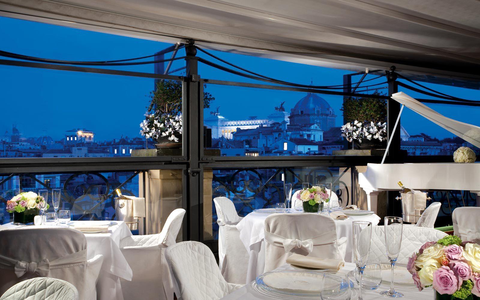 5 Star Luxury Hotel In Rome Banqueting Grand Hotel De La