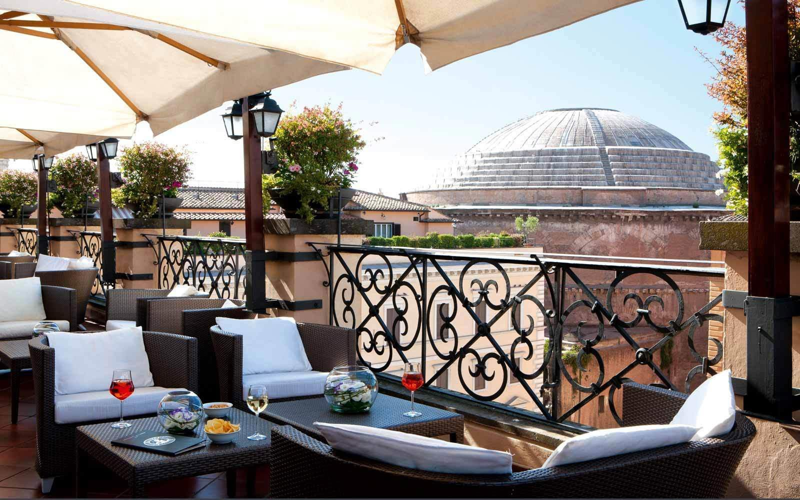 5 Star Hotel in Rome - Grand Hotel de La Minerve - Official ...