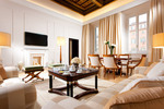 Presidential Suite - sitting room